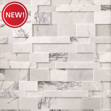 New! Amethyst Royale Polished Marble Panel Ledger