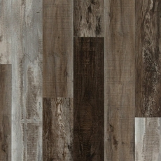 Ombre Taupe Hand Scraped Plank With Cork Back 7 X 48