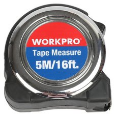 Work Pro 16ft. Chrome Plated Tape Measure