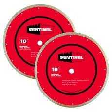 Sentinel 10in. Tile Blade 2-pack