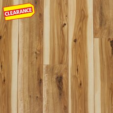 Clearance! White Grove Hickory Hand Scraped Water-Resistant Laminate