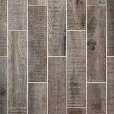 Raleigh Grey Wood Plank Porcelain Tile