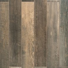 Woodhaven Brown Wood Plank Porcelain Tile