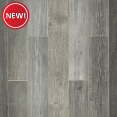 New! Woodhaven Grey Wood Plank Porcelain Tile