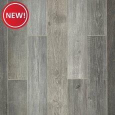 New! Woodhaven Grey Wood Plank Porcelain Tile