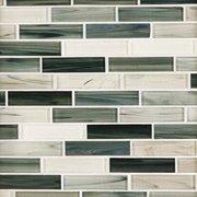 Garden Grove Linear Glass Mosaic
