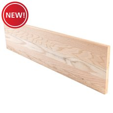New! Red Oak Unfinished Box Tread - 48 in.