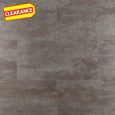 Clearance! Gilded Concrete Rigid Core Luxury Vinyl Tile - Cork Back