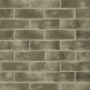 Army Green Polished Ceramic Tile