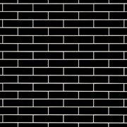 Bright Black Polished Ceramic Tile