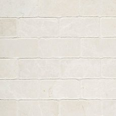 Botticino 2 x 4 in. Brick Marble Mosaic