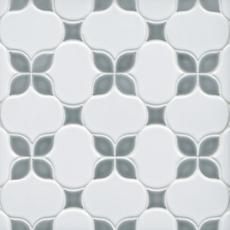Iris Dust Polished Porcelain Mosaic 12 X 12 100566421