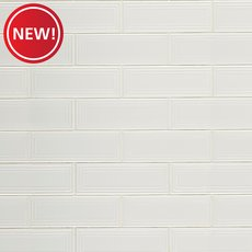 New! Silhouette Cotton Polished Ceramic Tile