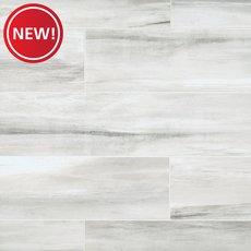 New! Solano Ivory White Linear Porcelain Tile