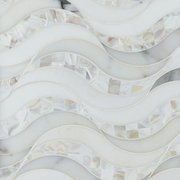 Hydra Calacatta Mother of Pearl and Thassos Mosaic