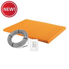 New! Schluter Ditra-Heat Kit 43.1 Sf Matt and 26.7 Sf Cable Wifi