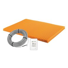 Schluter Ditra-Heat Kit 43.1 Sf Matt and 26.7 Sf Cable Wifi