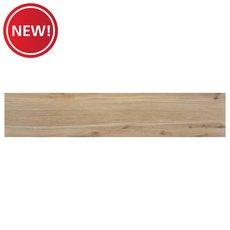 New! Woodville Natural Wood Plank Porcelain Tile
