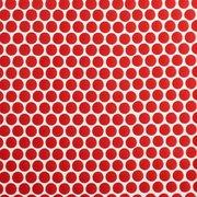Red Hot Polished Porcelain Penny Mosaic