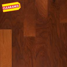Clearance! Premier Performance Warm Clay Walnut Acrylic Infused Engineered Hardwood