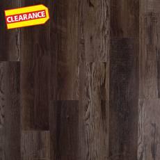 Clearance! Highland Dusk Rigid Core Luxury Vinyl Plank - Foam Back