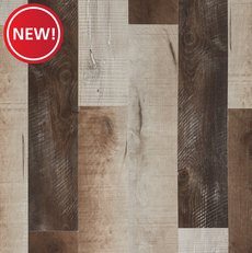 New! Barnwood Medley Rigid Core Luxury Vinyl Plank - Cork Back