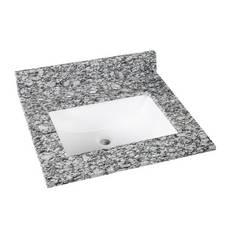 Kendall Gray Granite 25 in. Vanity Top
