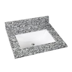 Kendall Gray Granite 25 in. Vanity Top