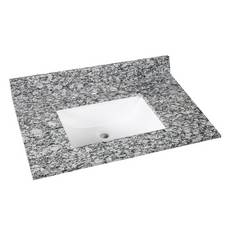 Kendall Gray Granite 31 in. Vanity Top