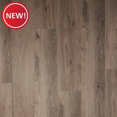 New! Silver Chain Rigid Core Luxury Vinyl Plank - Foam Back