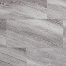 Silver Fantasy Gray Rigid Core Luxury Vinyl Tile Foam