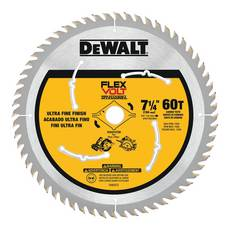 DeWalt 7 1/4in. 60T Flexvolt Circular Saw Blade