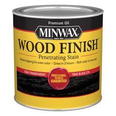 Minwax True Black 274 Wood Finish Stain