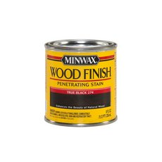 Minwax True Black 274 Wood Finish Stain