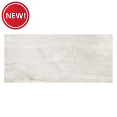 New! Bianco Onice Polished Porcelain Tile
