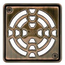Schluter Kerdi-Drain 4in. Grate Oil Rubbed Bronze