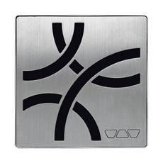 Schluter Kerdi-Drain 4in. Grate Stainless Steel Curve