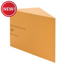 New! Schluter Kerdi-Board-SB Triangular Bench 16in. X 16in.