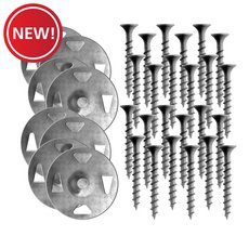 New! Schluter Kerdi-Board 1-5/8in. Screws and Washers - 100ct.