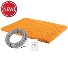 New! Schluter Ditra-Heat Kit 60.3 Sf Matt and 37.5 Sf Cable