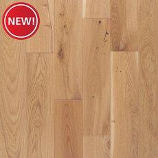 New! Toledo White Oak Wire Brushed Solid Hardwood