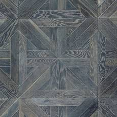 Canterbury Gray Oak Wire Brushed Engineered Hardwood Medallion