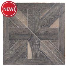 New! Canterbury Oak Wire Brushed Engineered Hardwood Medallion