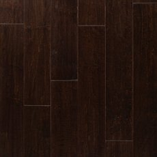 Cocoa Brown Maple II Hand Scraped Engineered Hardwood
