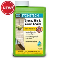 New! Laticrete StoneTech Stone Tile and Grout Sealer