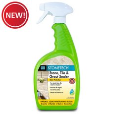 New! Laticrete StoneTech Stone Tile and Grout Sealer