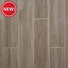New! Wynnwood Gray Wood Plank Porcelain Tile
