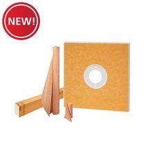 New! Schluter Kerdi-Shower Kit 48in. x 48in. No Drain