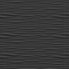 Onda Black Matte Ceramic Tile