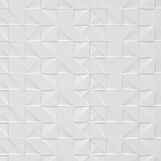 Cubo White Polished Ceramic Tile